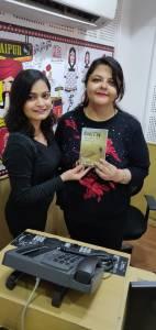 RJ Shivangi with Author Shailaza Singh