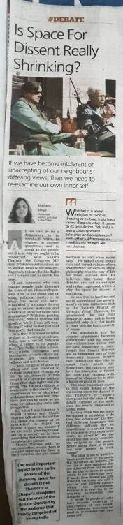 Articles by Shailaza Singh, the author of bestseller Faith-The Mystery of the Missing Girl