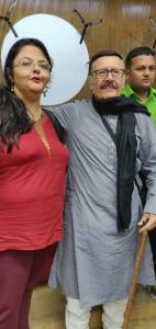 Shailaza Singh, the author of Faith-The Mystery of the Missing Girl talks to the veteran actor Parikshat Sahni