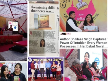 Single mother Shailaza Singh speaks about her book Faith-The Mystery of the Missing Girl