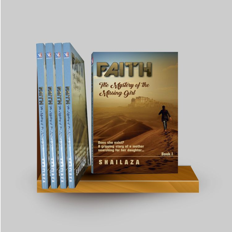 Faith-The Mystery of the Missing Girl, a book about the journey of a woman